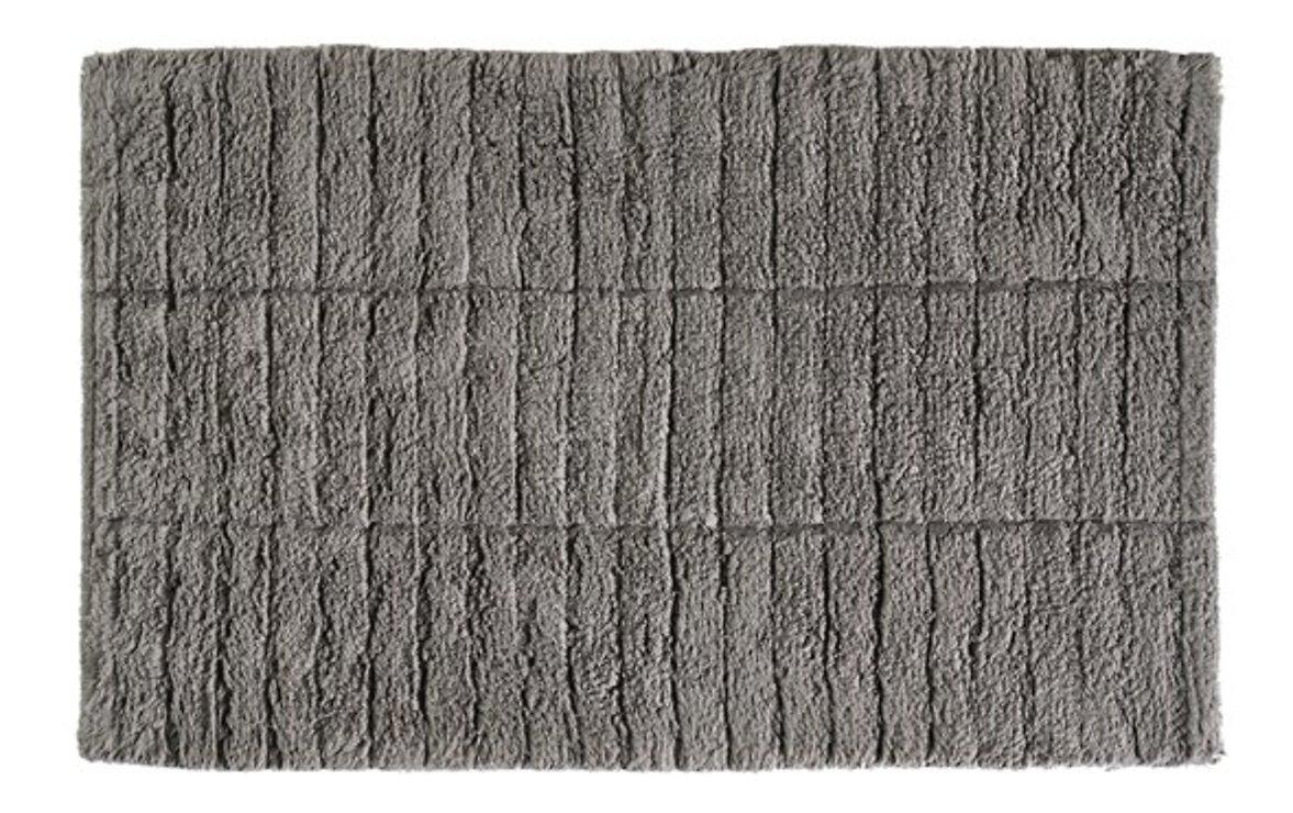 Zone Denmark Badematte Tiles 80 x 50 cm Baumwolle steingrau - Pic 1
