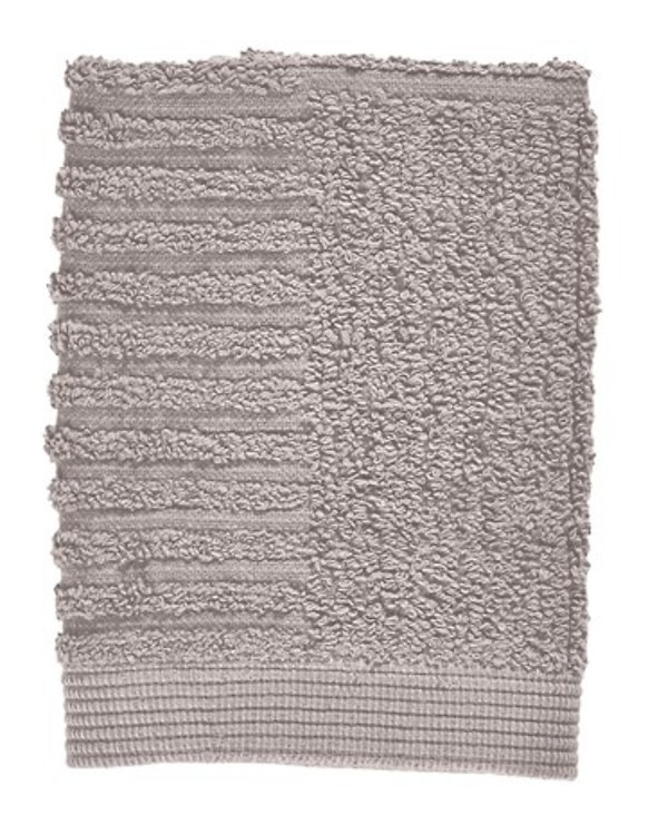 Zone Denmark Handtuch Waschlappen Classic 30x30 cm Baumwolle taubengrau - Pic 1
