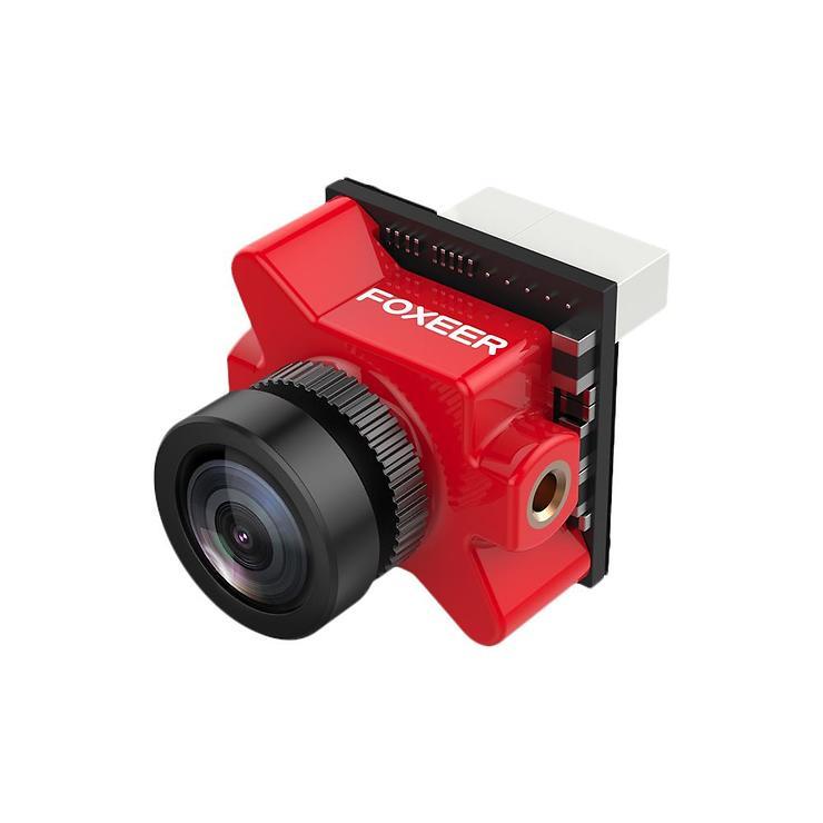 FOXEER Predator V4 Micro FPV Videokamera M8 1.8 Rot - Pic 1