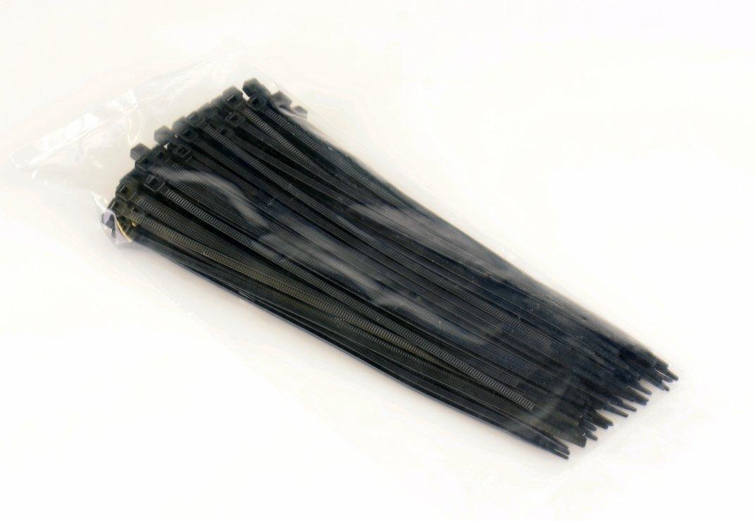 Kabelbinder schwarz 3,6 x 200mm 100 Stück - Pic 1