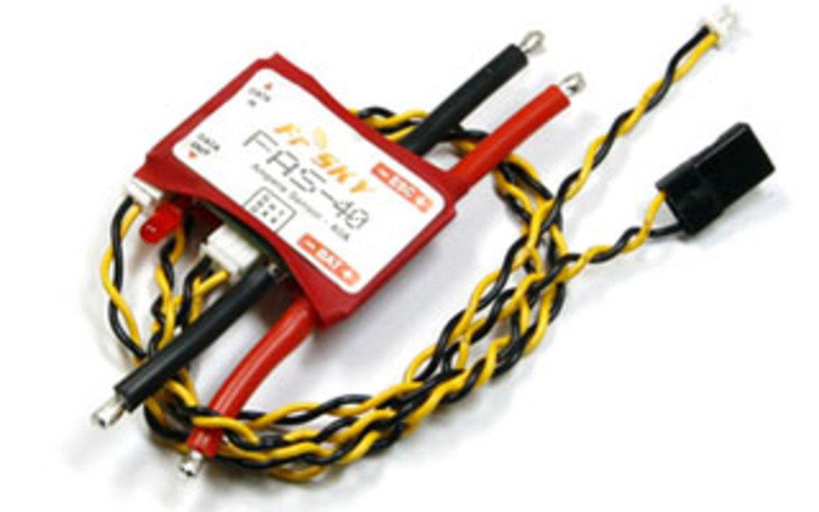 FrSky FAS 150A Strom Sensor 150 Ampere - Pic 1