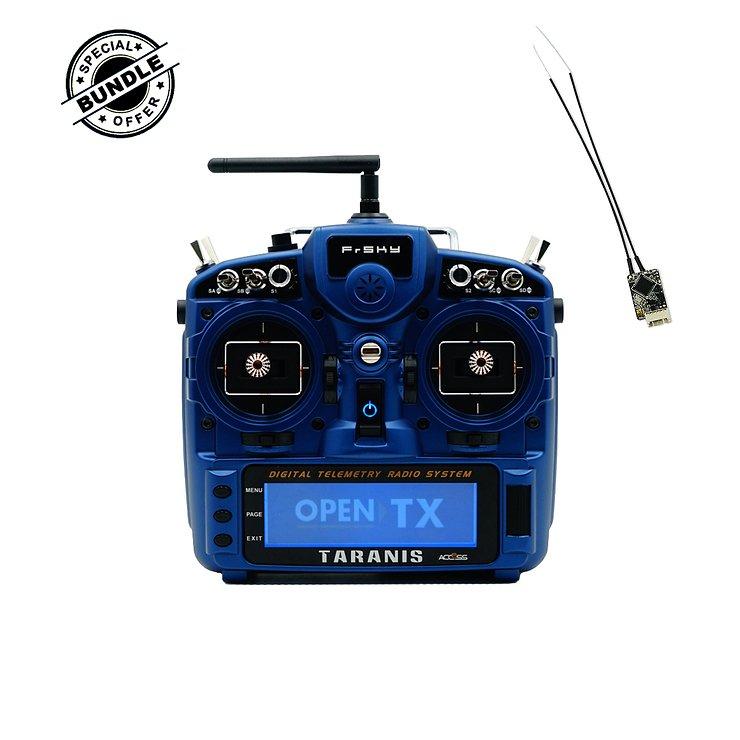FrSky Taranis X9D Plus V2019 Night Blue mit Soft Case Transporttasche inklusive R-XSR Empfänger EU LBT - Pic 1