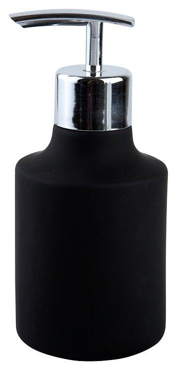 Galzone Seifenspender Keramik schwarz bauchig - Pic 1