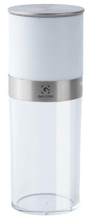 Galzone Salzmühle Acryl/Stahl transparent - Pic 1