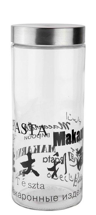 Galzone Vorratsdose aus Glas mit Stahldeckel 27,5cm - Pic 1