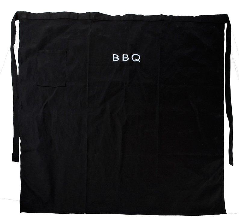 Galzone Kochschürze BBQ schwarz kurz - Pic 1