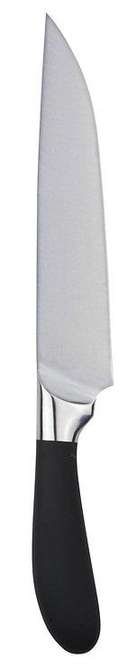 Galzone Kochmesser edelstahl mit gummiertem Griff 34cm - Pic 1