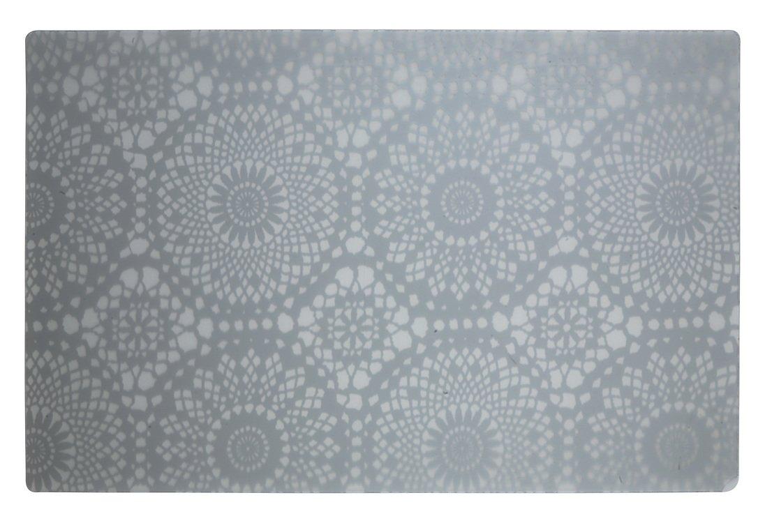 Galzone Tischset Muster weiß/transparent 28,5 x 44cm - Pic 1