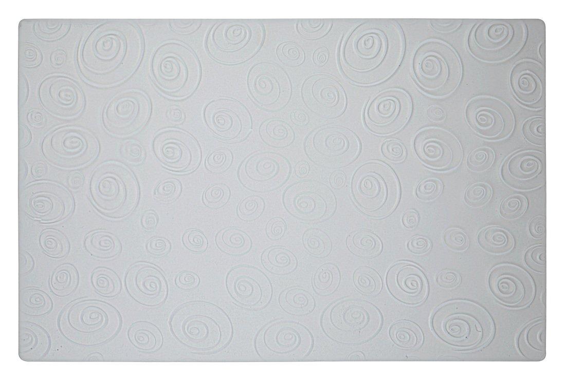 Galzone Tischset Kreise weiß/transparent 28,5 x 44cm - Pic 1