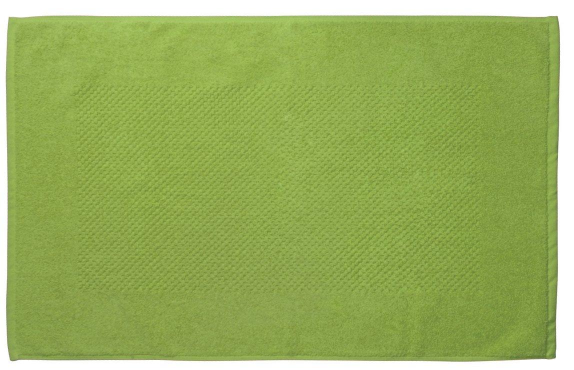 Galzone Badematte Baumwolle 80x50cm 750g grün - Pic 1