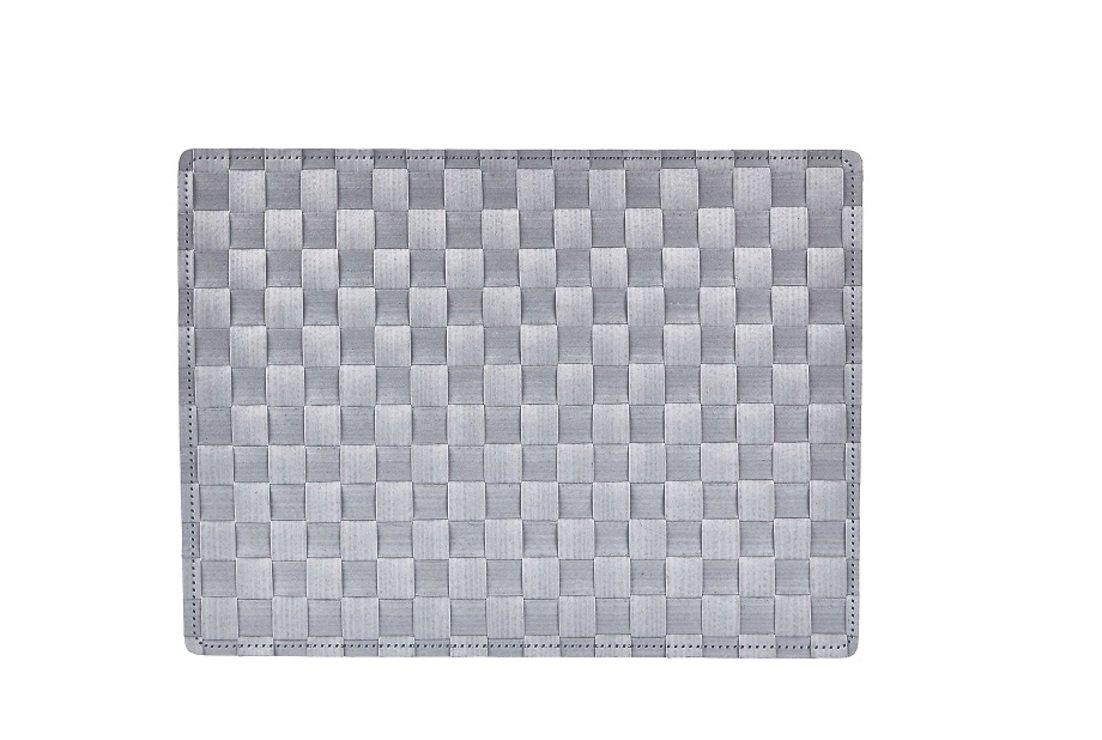 Galzone Tischset geflochten grau 30 x 40cm - AKTION - Pic 1