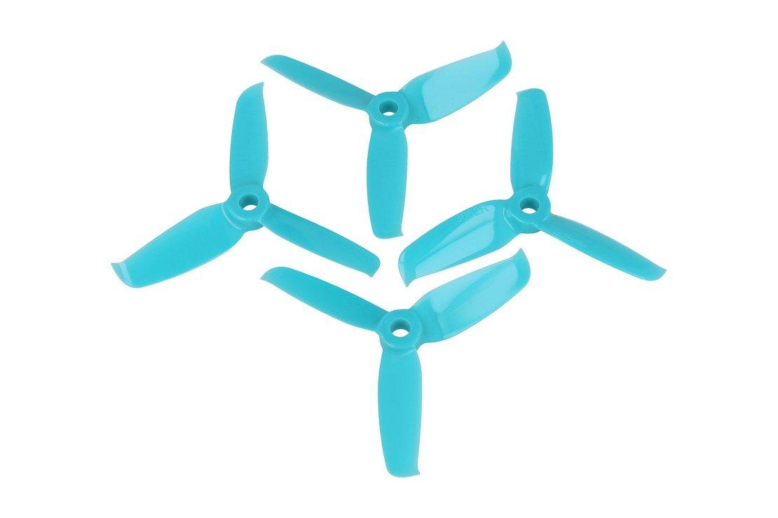 Gemfan Flash 3052-3 3x5,2 3Blatt Propeller blau 4 Stück - Pic 1