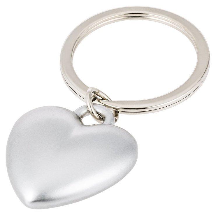 Gift Company Schlüsselanhänger Herz Silber matt - Pic 1