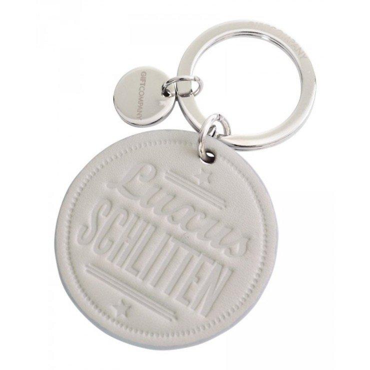 Gift Company Schlüsselanhänger Luxusschlitten Leder grau - Pic 1