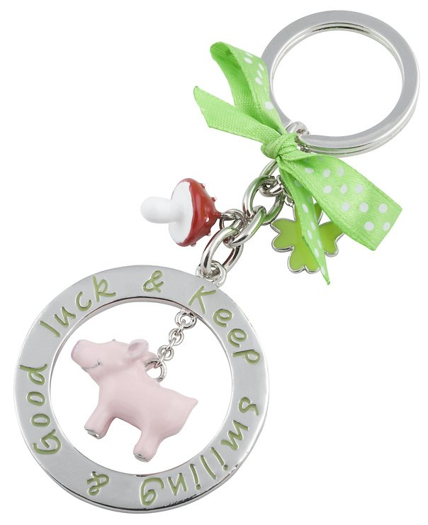 Gift Company Schlüsselanhänger Good Luck Schwein - Pic 1