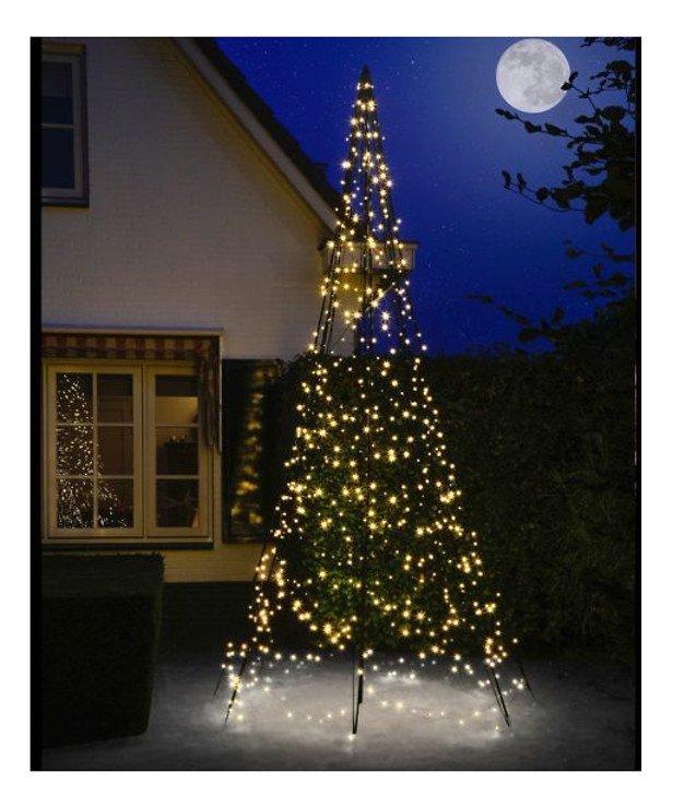 Fairybell LED Weihnachtsbaum 640 LED mit Twinkle warmweiß außen 4m - Pic 1