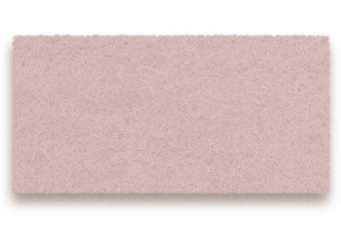 Hey-Sign Tischset Filz 3 mm rechteckig 45 x 35 cm powder 1 Stück - Pic 1