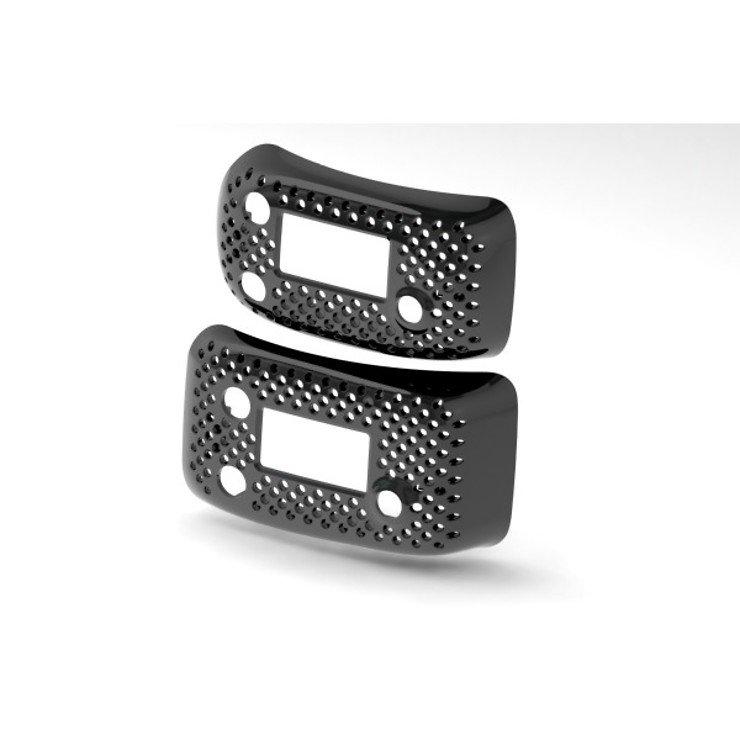 ImmersionRC RapidFIRE FPV Videobrillen Modulschacht Abdeckung schwarz glanz - Pic 1