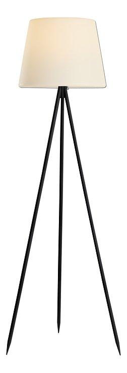 Kaemingk Stehlampe Solar 148 cm 8 LED warmweiß Metall schwarz - Pic 1