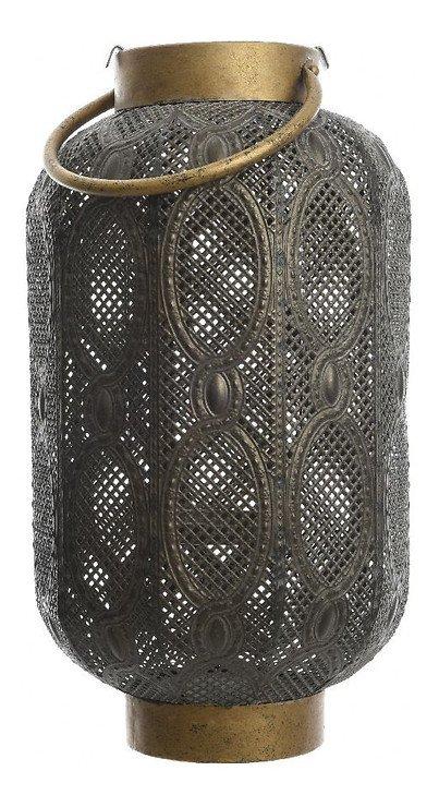 Kaemingk Laterne mit Griff 11 x 37cm Eisen grau - Pic 1