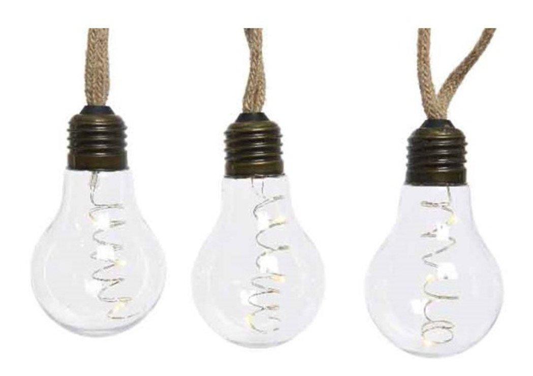Kaemingk LED Lichterkette 10 Lampen LED transparent 2.7m - Pic 1