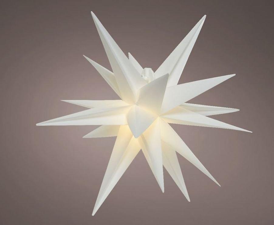 Kaemingk LED Leuchtstern 6 LED 75 cm warmweiß innen und außen - Pic 1