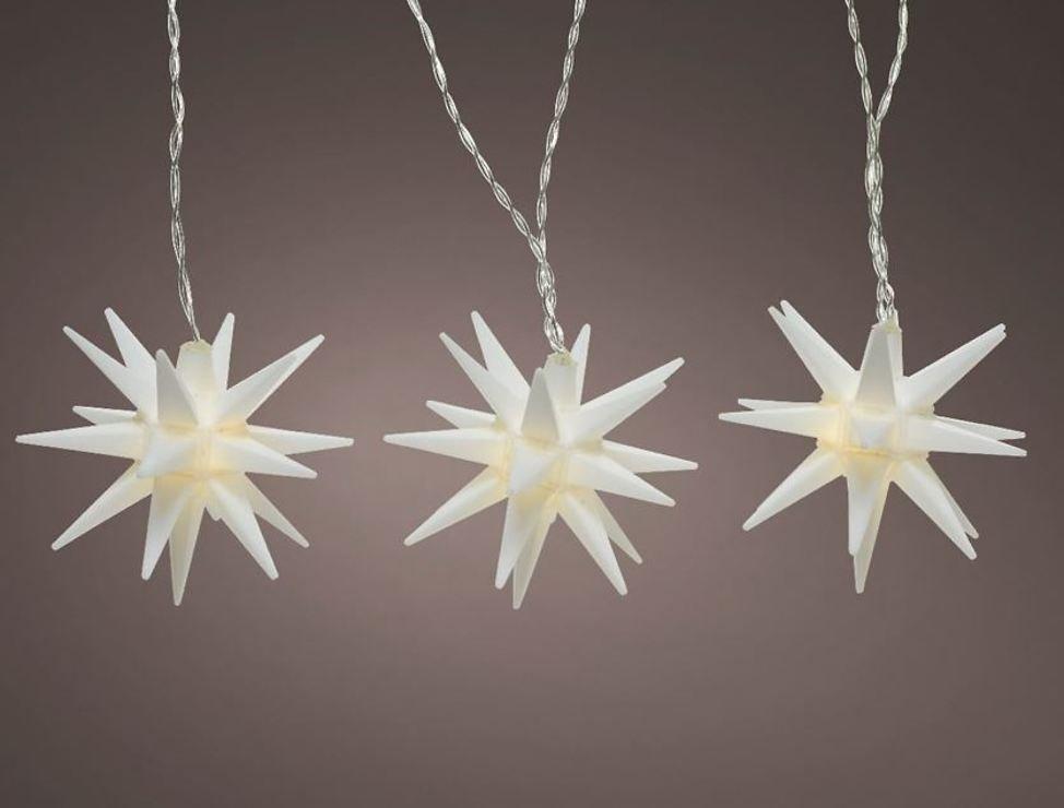 Kaemingk Lichterkette 5 Sterne 5 LED 1,6 m innen und außen - Pic 1