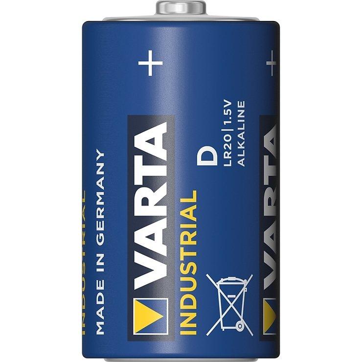 Varta Alkaline Batterie LR20 Mono D - Pic 1