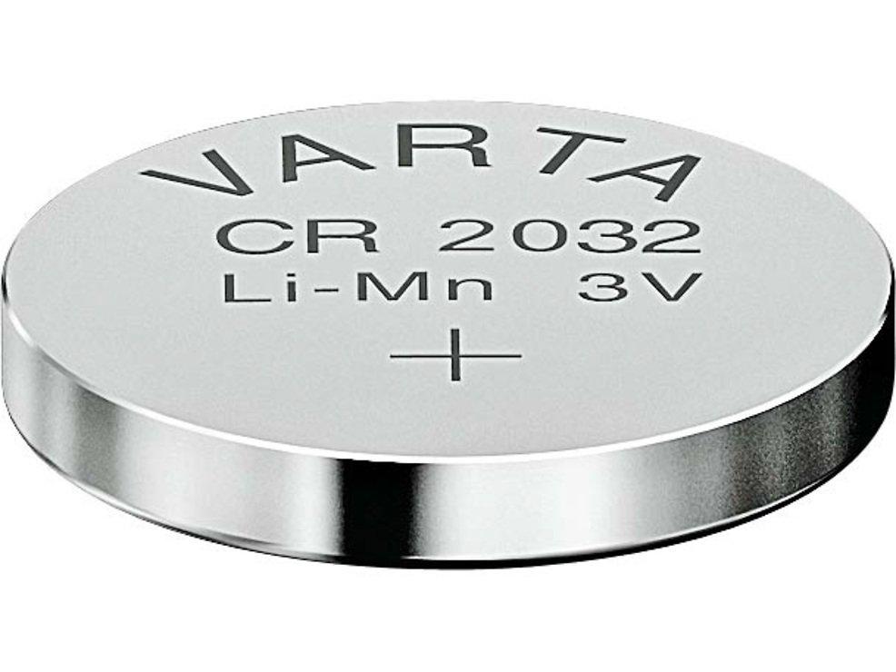 Varta Knopfbatterie Lithium CR 2032 3 Volt 230mAh - Pic 1