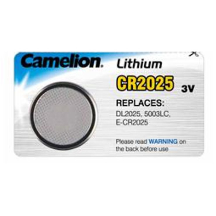 Knopfbatterie Lithium CR 2025 3 Volt - Pic 1
