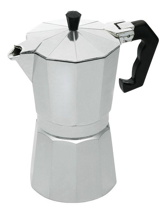 KitchenCraft Espressokocher für 6 Tassen Aluminium silber 290 ml - Pic 1