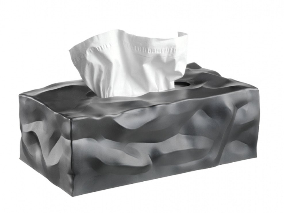 Essey Aufbewahrungsbox Kosmetiktücher Wipy II graphit - Pic 1