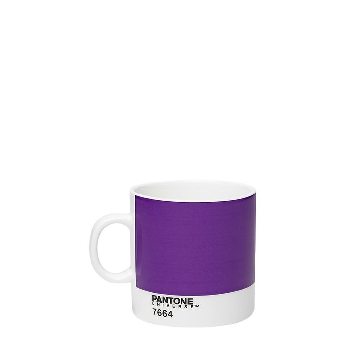 Pantone Universe Espressotasse Purple 7664 120 ml Bone China - Pic 1