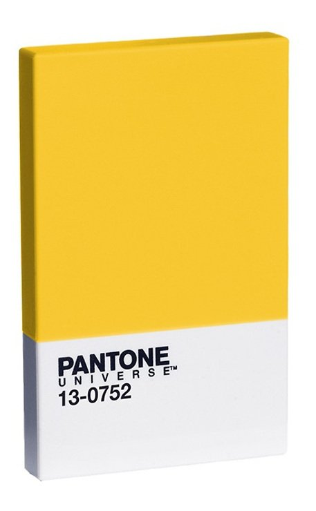 Pantone Kreditkartenhalter Lemon 13-0752 - Pic 1