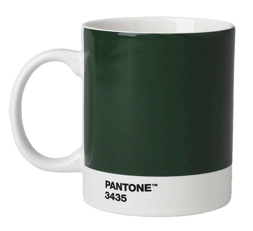 Pantone Henkelbecher 375 ml Porzellan Dark Green 3435 - Pic 1