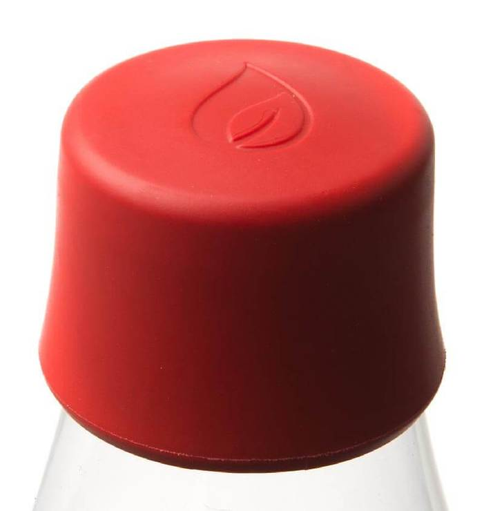 Retap Deckel für 0,3l, 0,5l, 0,8l Flasche Pantone 032 rot - Pic 1