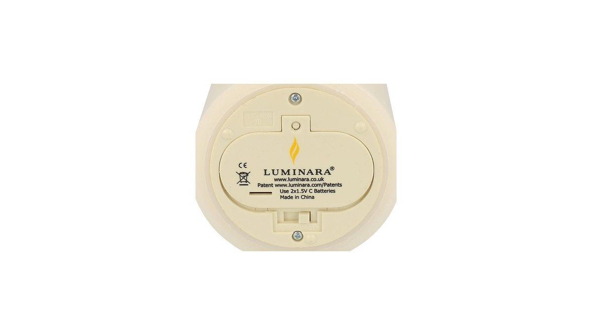 Luminara Ersatzdeckel Echtwachskerze D 8cm / C Batterien - Pic 1