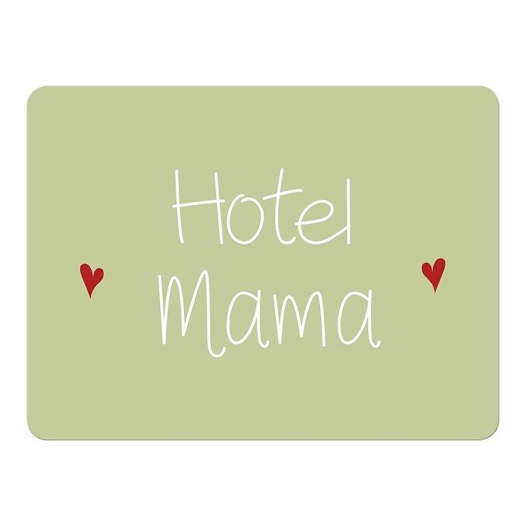 Mea Living Tischset Kunststoff Hotel Mama grün - Pic 1