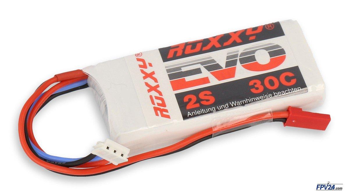 ROXXY Batterie LiPo Akku Evo 2S 850mAh  30C - Pic 1