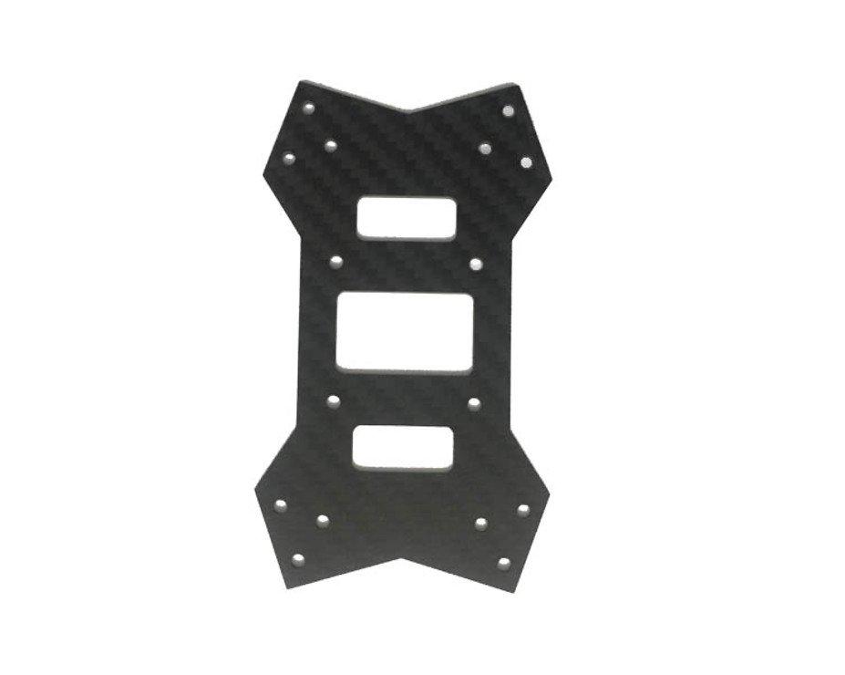 Noblish TPF 210 Ersatzplatte Bodenplatte Carbon - Pic 1