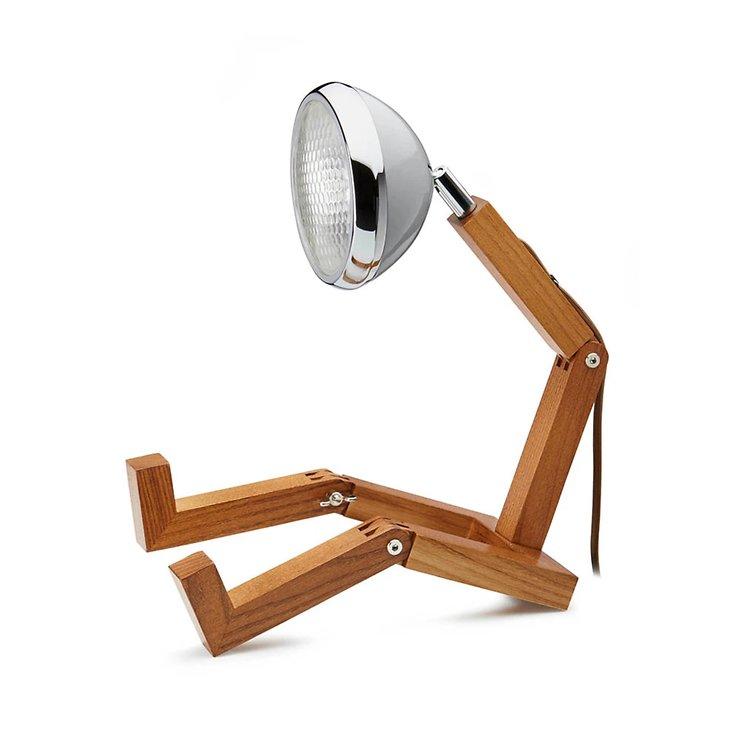 MR WATTSON Original 12 V LED Tischlampe Nardo Grey - Pic 1