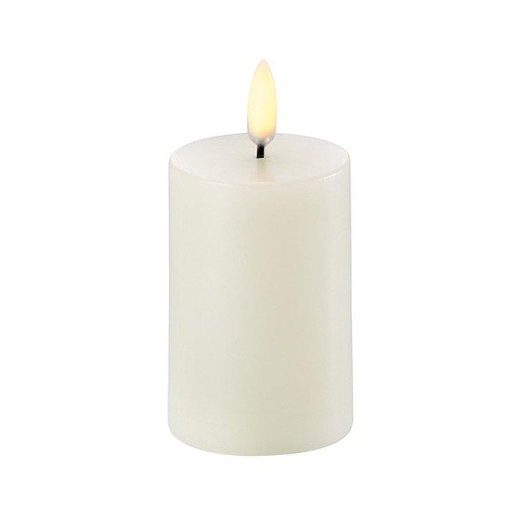 UYUNI Lighting LED Kerze PILLAR 5,8 x 10 cm ivory - Pic 1