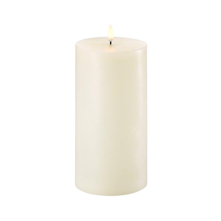 UYUNI Lighting LED Kerze PILLAR 10,1 x 20 cm ivory - Pic 1