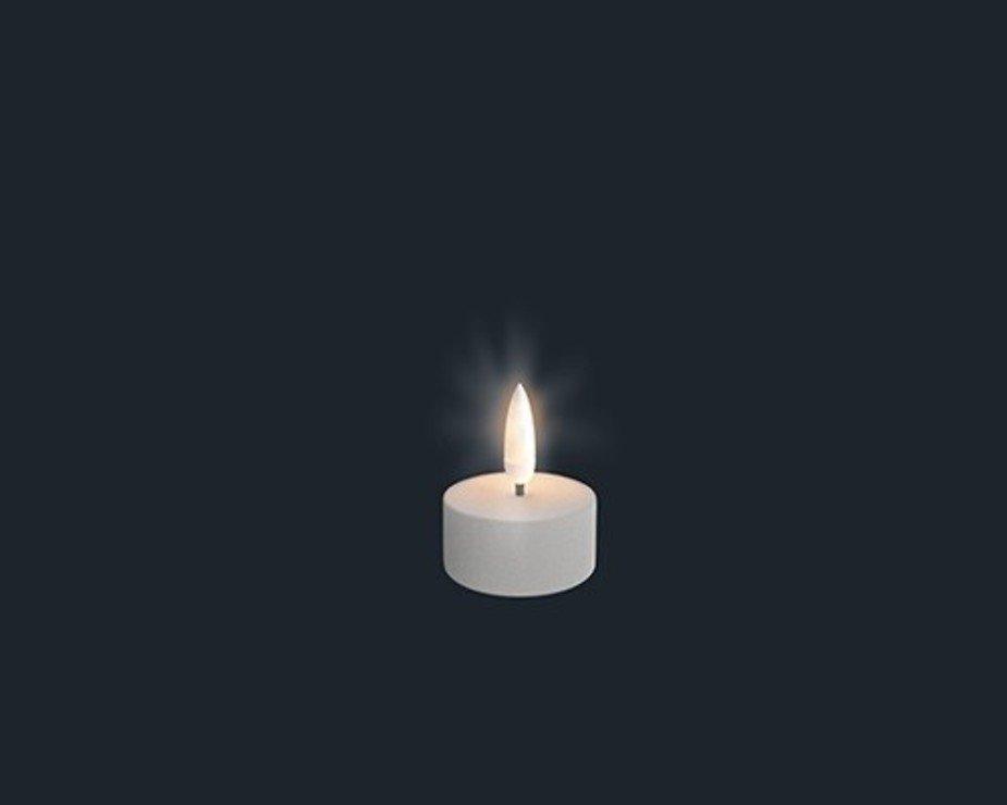 UYUNI Lighting LED Teelicht 3,8 x 4,7 cm weiß fernbedienbar - Pic 1