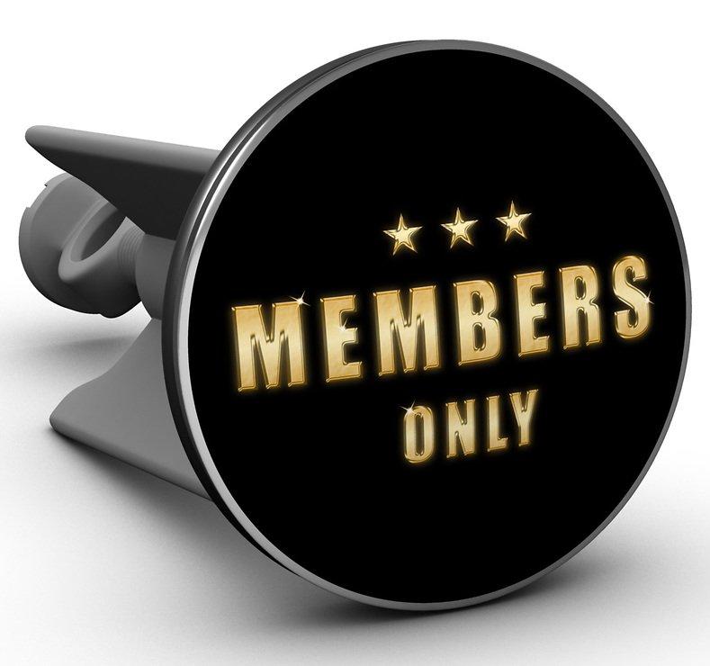 Plopp Waschbeckenstöpsel Members only - Pic 1