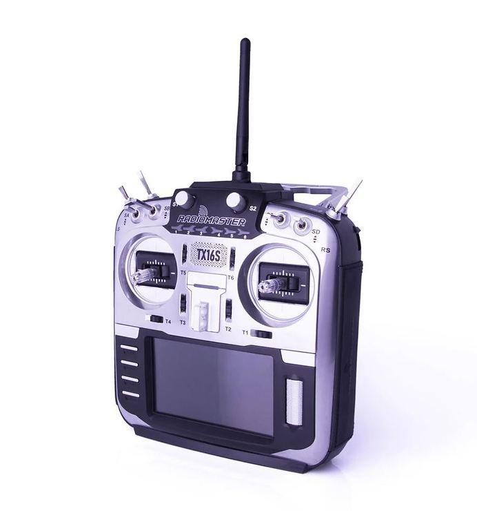 RadioMaster TX16S MAX Silver Classic Multiprotokoll Funke - Pic 1