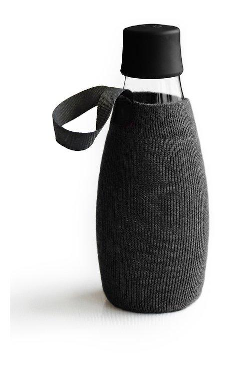 Retap Sleeve Flaschenhülle für 0,5 l Flasche schwarz - Pic 1