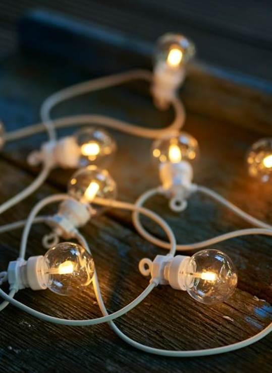 Sirius Lichterkette Lucas Starter Set 10 LED klar außen 3m weiß - Pic 1