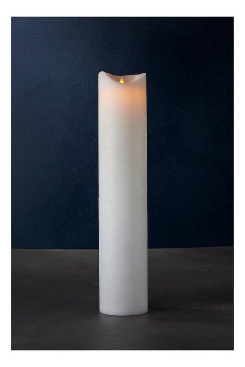 Sirius LED Kerze Sara Exclusive 10 x 50 cm weiß - Pic 1