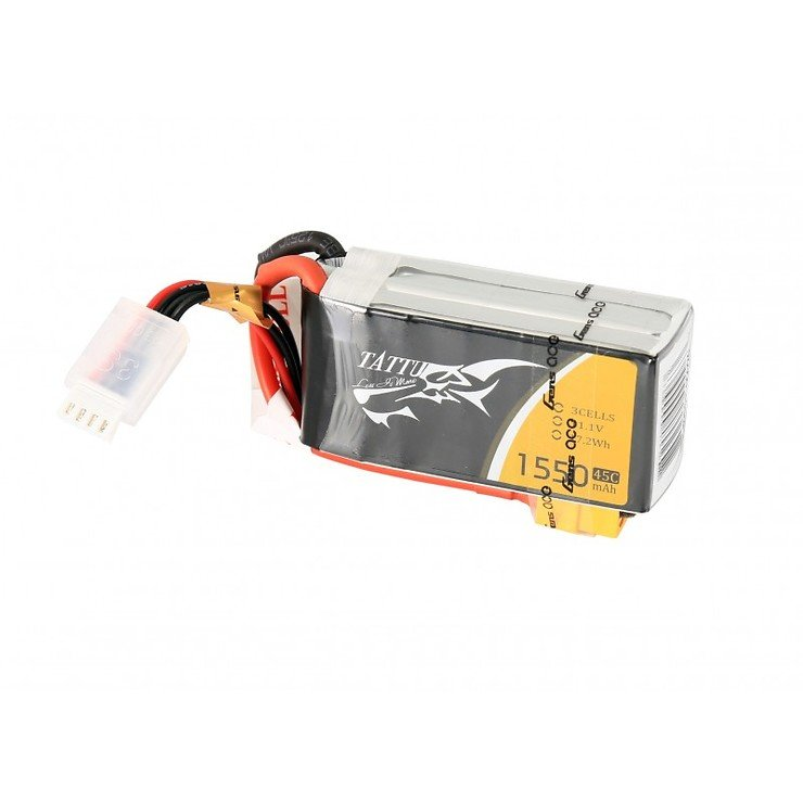 Tattu Batterie LiPo Akku 1550mAh 3S1P 11.1V 45C - Pic 1